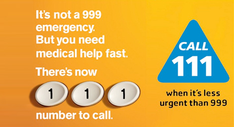 Call NHS 111 when it