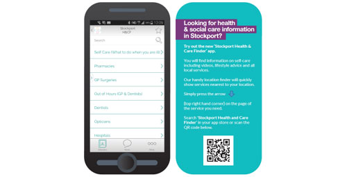 Stockport Health & Care Finder App